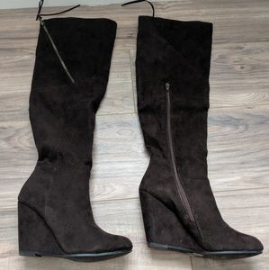 Shoes - High wedge boot sz 7.5